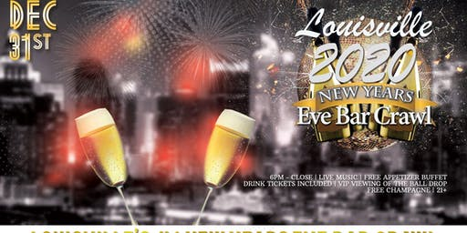 Louisville NYE Bar Crawl