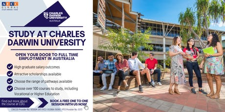 Info-session with Charles Darwin University tickets