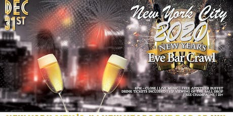 New York City NYE Bar Crawl tickets