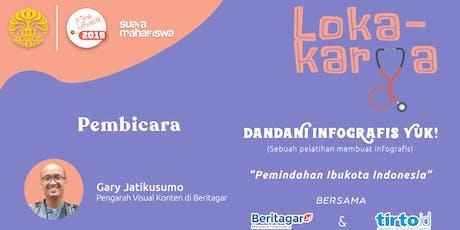 "Lokakarya ""Dandani Infografis Yuk!"" tickets"