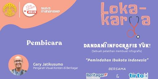 """Lokakarya """"Dandani Infografis Yuk!"""""""