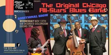 Albany Blues Club Presents The Original Chicago All Stars Blues Band [2] tickets