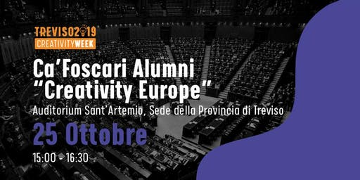 Creativity Europe - incontro con C. Cottarelli e B. Barel