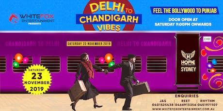 Delhi to Chandigarh Vibes tickets