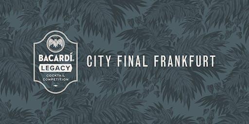 Bacardí Legacy Cocktail Competition, City Final Frankfurt
