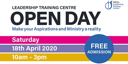 NTCG Leadership Training Centre Open Day 2020