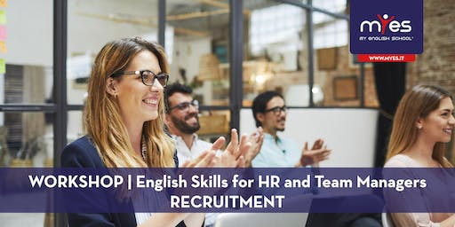 English Skills For HR and Team Managers - RECRUITMENT