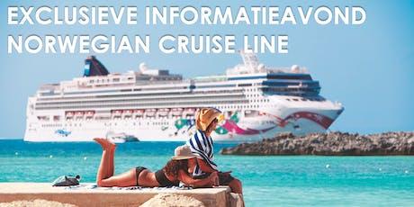 Exclusieve informatieavond Norwegian Cruise Line billets