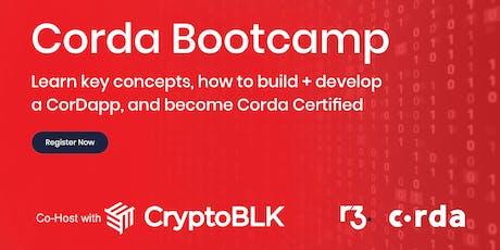 Corda Blockchain Bootcamp - Hong Kong tickets