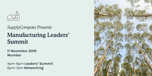 SupplyCompass Manufacturing Leaders Summit