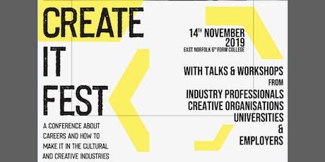Create It Fest tickets