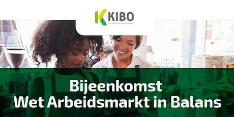 Wet Arbeidsmarkt in Balans tickets