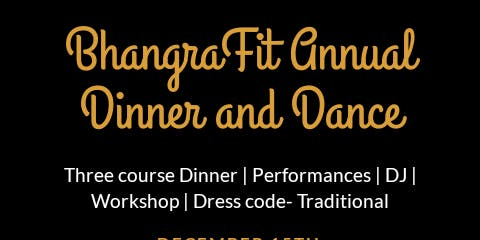 BhangraFit Dinner Dance