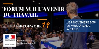 Save the date – Forum sur l'avenir du travail