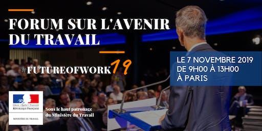 Save the date – Forum sur l'avenir du travail