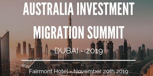 Australian Investment Migration Summit