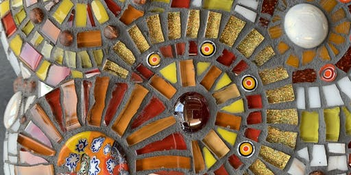Mosaic Full Day Beginners Workshop  -  Learn the basics of mosaic art