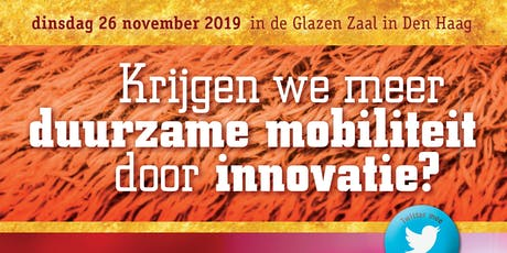 Krijgen we meer duurzame mobiliteit door innovatie? tickets