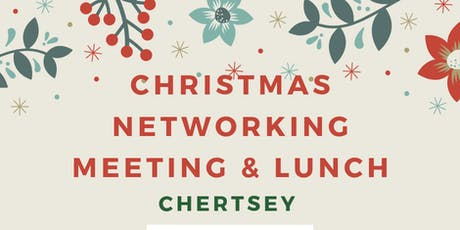 Christmas Networking Chertsey- December 2019 tickets