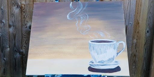 Paint by Wine - Mug