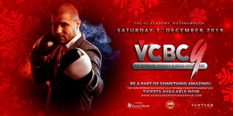 Vantage Charity Boxing Challenge 9 tickets