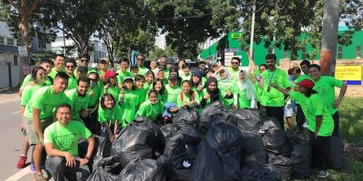 Clean Up Volunteering @ Kuala Selangor