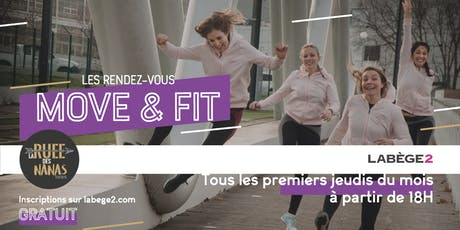 #MOVE AND FIT ZUMBA billets