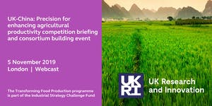 WEBCAST: Transforming Food Production Briefing Event...
