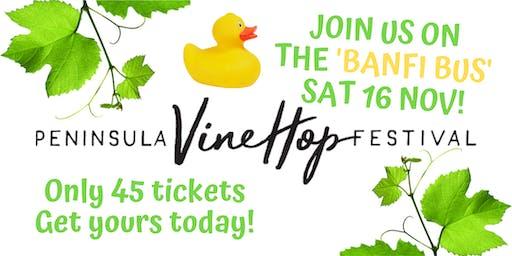 Peninsula Vine Hop Festival 'Banfi Bus'