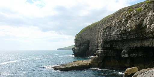 Climb the limestone crags of the Swanage Coast