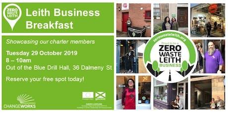 Zero Waste Leith Business Breakfast tickets