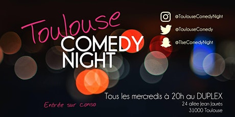 Toulouse Comedy Night tickets