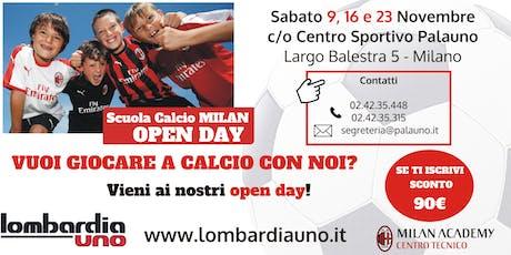 Open day di calcio biglietti