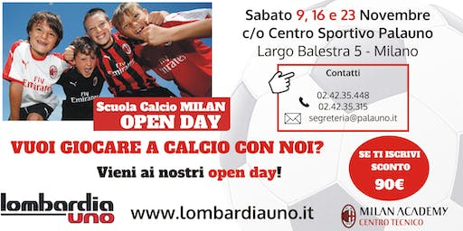 Open day di calcio