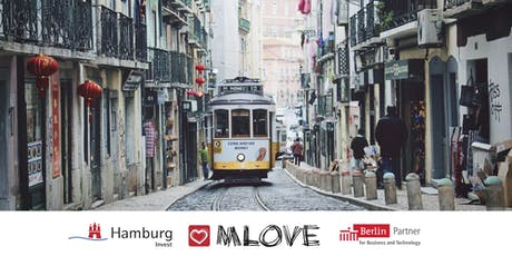 MLOVE Salon Lisbon - presented by Hamburg Invest & Berlin Partner tickets