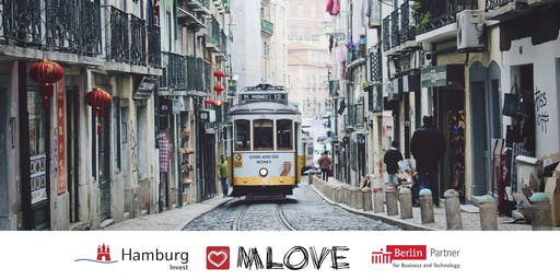 MLOVE Salon Lisbon - presented by Hamburg Invest & Berlin Partner
