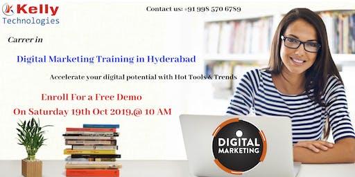 Attend Free Demo On Digital Marketing On Saturday 19th Oct 2019,@ 10 AM