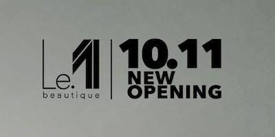 Le.1 Beautique opening