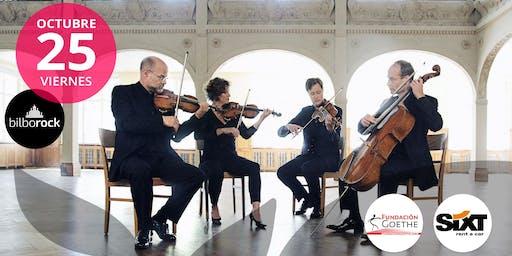 Cuarteto Mandelring en Bilbao (donación)