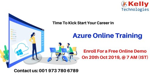 Take A Part In Azure Free Online Demo Session  On 20th Oct at 7AM.