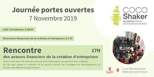 RENCONTRE DES ACTEURS FINANCIERS DE LA CRÉATION D'ENTREPRISE