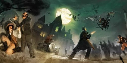 JDR Spécial Halloween - Chroniques Oubliées Cthulhu