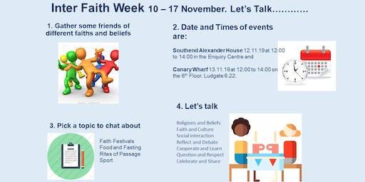 Inter Faith Week - Food Festival Tasting Event