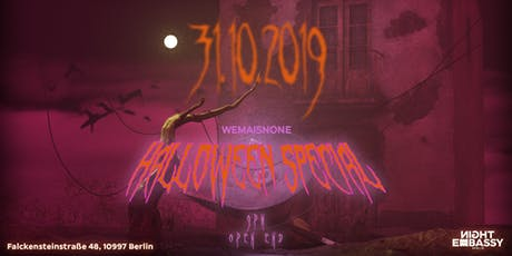 Wemaisnone present: Halloween Special tickets