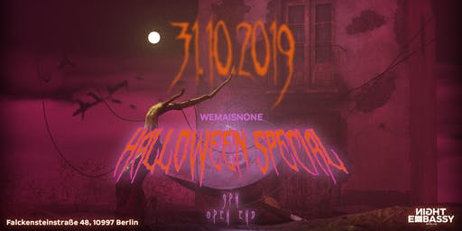 Wemaisnone present: Halloween Special