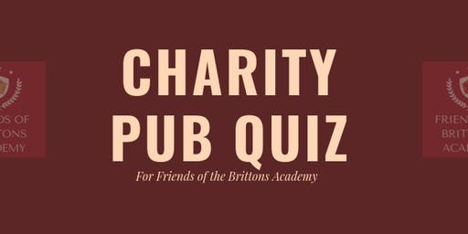 Charity Pub Quiz - Friends of Brittons Academy