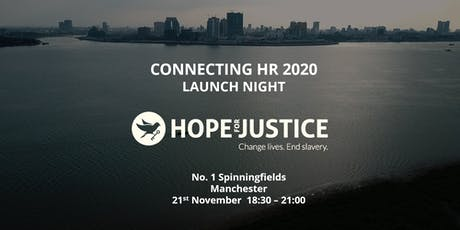 Connecting HR 2020- working together to change lives and end slavery tickets