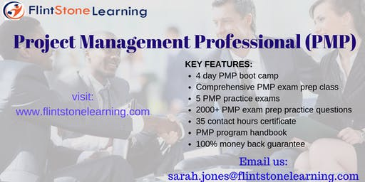 PMP Certification Training Course in Baker City, OR