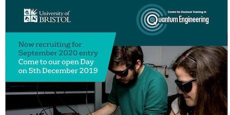 Quantum Engineering CDT Open Day tickets