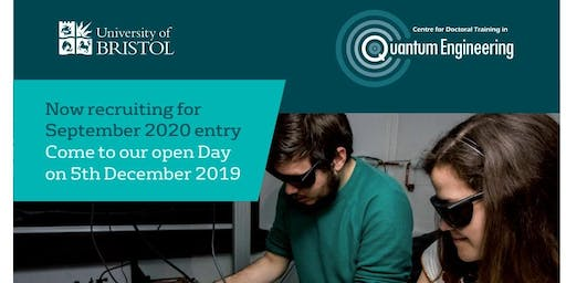 Quantum Engineering CDT Open Day